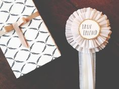 DIY Prize Ribbons | A beautiful download to print and put together, from Shanna Murray & Cecelia Hayes $12