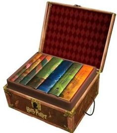 $117 Harry Potter Hardcover Boxed Set, Books 1-7
