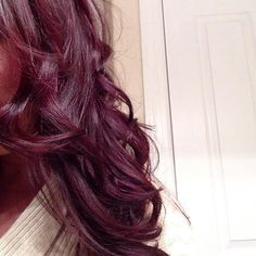 burgundy plum hair - Hairstyles and Beauty Tips