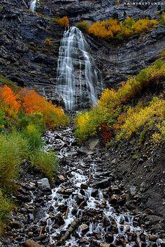 Bridal Veil Falls Provo canyon , UT