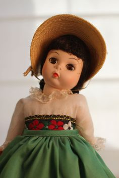 """Madame Alexander 8"""" Italy Doll, $25 in my store."""