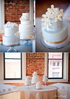 Susie Linquist Photography; Mini wedding cakes!