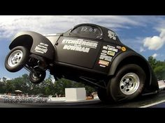 ▶ 2014 PA Gasser Nationals Wheelstand Contest Dan White Mike Etchberger Nostalgia Drag Racing - YouTube