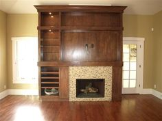 Custom Entertainment Unit - lots of hidden storage you can't see!!