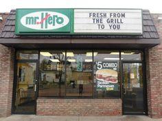 Akron Mr. Hero  ~ 484 W. Market St., Akron, Ohio 44303   ~ Phone 330-376-3087 ~ Hours Mon - Sat: 10:30 am - 10:00 pm   Sun: 12:00 pm - 9:00 pm