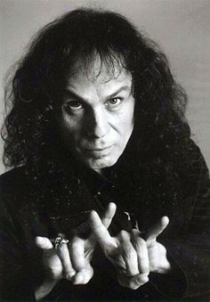 Ronnie James Dio.  The man on the Silver Mountain.