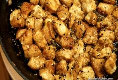 Sesame Chicken for under 200 calories per serving, seriously delicious and ready in about 25 minutes :)