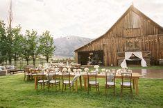 barn wedding - beautiful!