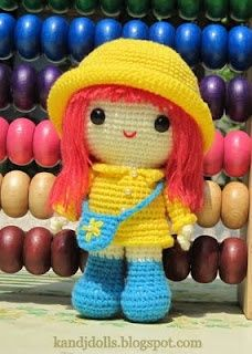 Amigurumi crochet patterns ~ K and J Dolls: Amigurumi.