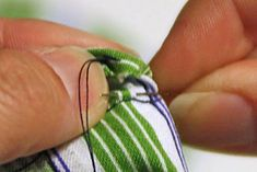 Hand Sewing Stitches for Sewing Clothes - Melly Sews