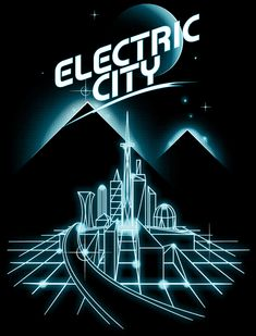 Electric City by Vincent Rogel Africa, via Behance