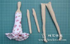 Moulds For Fabric Crafts: Tilda Doll With Mold Walkthrough
