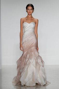 Destination Weddings and Honeymoons -- Obsessed with the dress.