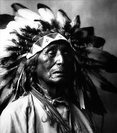 """""""Before our white brothers arrived to make us civilized men, we didn't have any kind of prison. We had no locks, therefore there were no thieves. When someone was so poor he couldn't afford a horse, tent or blanket, he would receive it all as a gift. We were in bad shape before white men arrived. I don't know how to explain how we were able to manage without these fundamental things that (so they tell us) are so necessary for civilized society"""" - John (Fire) Lame Deer, Sioux Lakota, 1903-1976"""