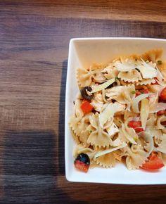 Blog de recettes Weight Watchers Propoint... Ou pas!: Salade de farfalles toute simple - Recette Weight Watchers Propoint