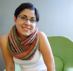 Super Simple Superwash Scarf by Amanda Rios