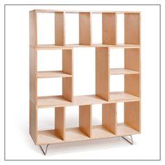open shelves, stack shelv, plywood, bbox4 fullsiz, offi bbox4