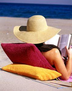 60 Beach Ideas  Terry Cloth Pillow Cases