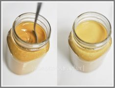 Cocoa and coffee body butter