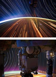 Super-long Exposure of Star Trails by Don Pettit