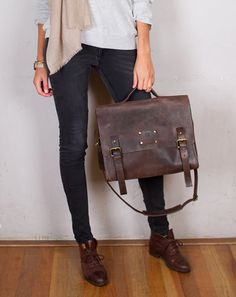 Dirty Harry Leather Satchel