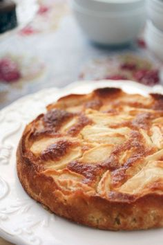 French Apple Cake ~  Recipe included