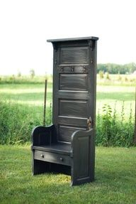 This is so neat!  I love it! Now i have to decide what to do with my old doors....