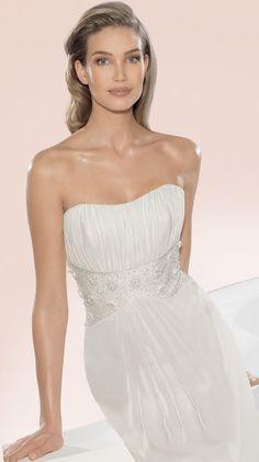Atelier Diagonal Bridal Gown Style - 2835