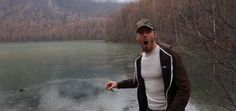 He's never heard anything like it! A man traveling around Alaska with his girlfriend, YouTube filmmaker, Cory Williams, decided to skip some rocks on a frozen lake in Anchorage. His reaction to the...