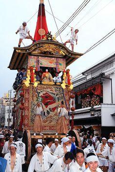 Gion Matsuri Festival, Kyoto, Japan
