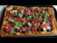 How to Make Puff Pastry Pizza Tart