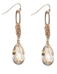 Chain Detail Jewel Drop Earrings | Women's Earrings | THE LIMITED #TheLimited #RedCarpet