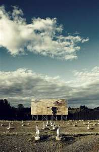 old drive in theater