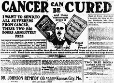 Cancer Can Be Cured, Dr. Johnson Remedy Co.