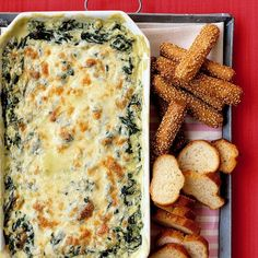 Sounds like a great way to make spinach dip without mayo!