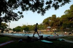 Big Stacy Pool is the swimming hole for the people who want to swim laps and stay active. Down in South Austin, this pool is free to the public and clean too.