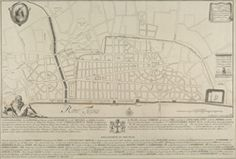 A PLAN of the City of LONDON, after the great FIRE in the Year of OUR LORD 1666.