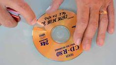 Truco para pelar CDs reciclados