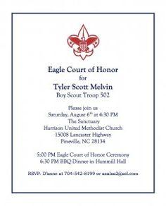 Eagle Scout Invitations was nice invitations sample