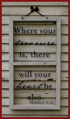 {love this.} Verse on old window frame~