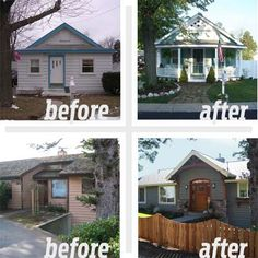 Best Curb Appeal Before and Afters 2011 - it is possible to fixing ugly :)