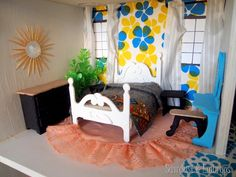 Dollhouse Bedroom {Sawdust and Embryos}