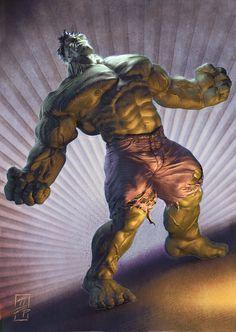#Hulk #Fan #Art. (Hulk) By: Grantparsley.