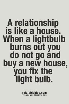 A relationship is...