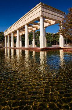Jardines del Turia, cerca del Palau de la Música. Valencia Spain