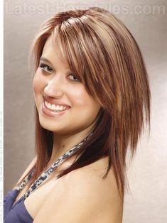 medium haircuts, hair colors, layered hairstyles, layered haircuts, medium length hairstyles