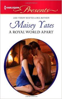 A Royal World Apart by Maisey Yates.  Cover image from amazon.com.  Click the cover image to check out or request the romance kindle.