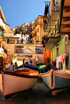 Checked this off my bucket list!  One of my favorites!  Streets of Manarola, Cinque Terre, Italy.