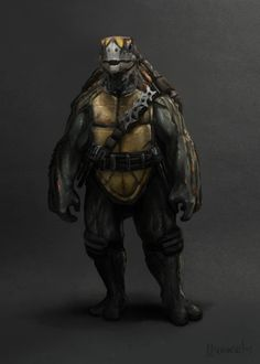 Cool Gritty NINJA TURTLES Character Illustrations — GeekTyrant