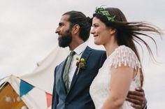boho 70s style wedding / Melissa Milis Photography